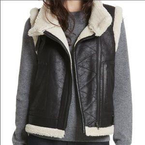 Joie - NWOT leather vest